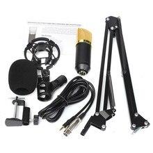 Высокое качество BM700 динамический микрофон + подвеска стрелы ножничные подставка комплект для студии