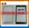 """Высокое Качество 7.0 """"Для Huawei Honor Играть Mediapad T1-701 T1-701U Планшета Переднее Стекло Внешний Стеклянная Панель Объектив Черный Белый + отслеживания"""
