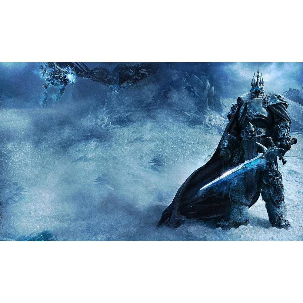 NO.14 SNOW WARRIOR Playmat Table Pad Game Cards Pad Custom Playmats Can Also be Custom Printed