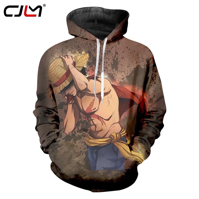 Good Fashion 3d Hoodie Sweatshirt Anime One Piece Monkey D Luffy Hooded Hoodies Pullovers Tops Oversized Streetwear 3xl Drop Shipping Hoodies & Sweatshirts