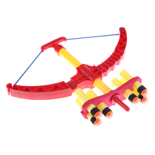 Hot Sale Child Hunting Bow Toy Soft Bullet Gun Shooting Sports Bow And  Arrow Toy Set For Children Classic Toys For Kids