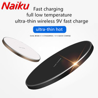 Qi Wireless Charger Charging Pad For IPhone 8 8 Plus X For Samsung Note 5