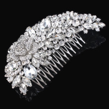 New Arrival Bridal Hair accessories Wedding Comb Rhinestone Crystal Flower Bridesmaid Jewelry
