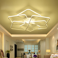 Modern LED Ceiling Lights Kitchen Fixtures For Dining Living Room Bedroom Space 20 30 Meters Dimmable Indoor Home Lighting