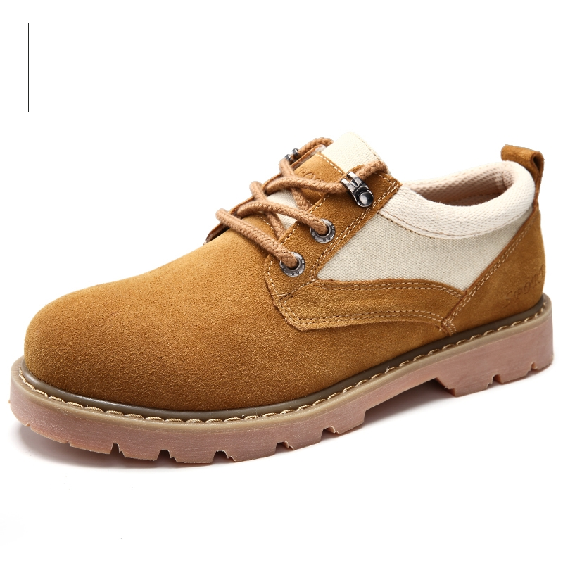 Leather Tooling Shoes Men Casual