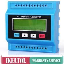 TUF-2000M Ultrasonic Flowmeter TM-1 Transducer (DN50-700mm) Digital Water Flow Meter  dn50 g2 2 inch water flow hall sensor switch meter flowmeter control 10 200l min
