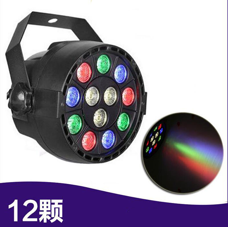 4pcs/lot 12W DMX-512 RGBW LED Stage PAR Light Professional Lighting Dj Strobe 8Channel Wedding Party Disco Show Stage Light dmx 512 mini moving head light rgbw led stage par light lighting strobe professional 9 14 channels party disco show