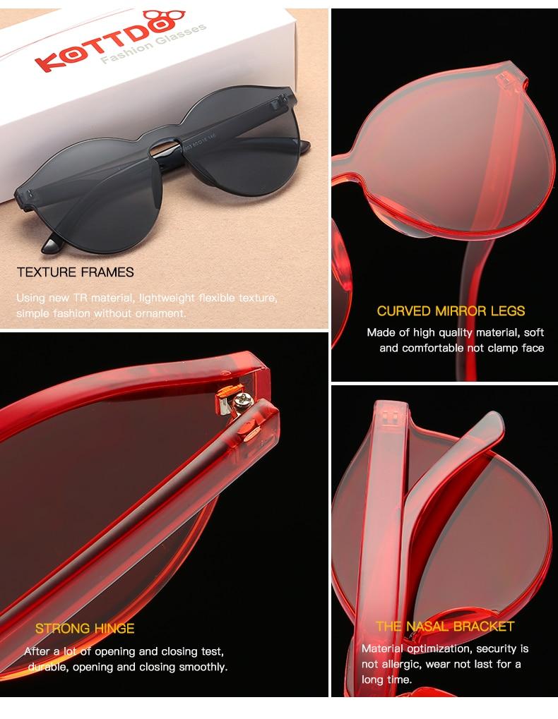 a900988539 KOTTDO 2018 Fashion Sexy Women Sunglasses Round Personality Glasses Frame  Goggle Vintage Sun Glasses Eyewear UV400 Oculos De SolUSD 6.78 piece