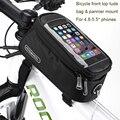 "5.5 ""bicicleta soporte para teléfono celular móvil bolsa impermeable para uno más 3 t/3/leeco le 2/1 s/asus zenfone max/3/pro/huawei honor 8"
