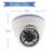 Ahdh 1080 p ahd câmera sony imx323 sensor 24 ir led night vision Indoor Dome Câmera de Segurança CCTV 1080 P FULL HD Através de Filtro de Corte IR