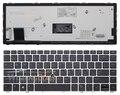 Новый Подсветкой Клавиатура для Ноутбука HP EliteBook Фолио 9470 м Ultrabook 9480 м США Английский черный Teclado с серебряной Оправе