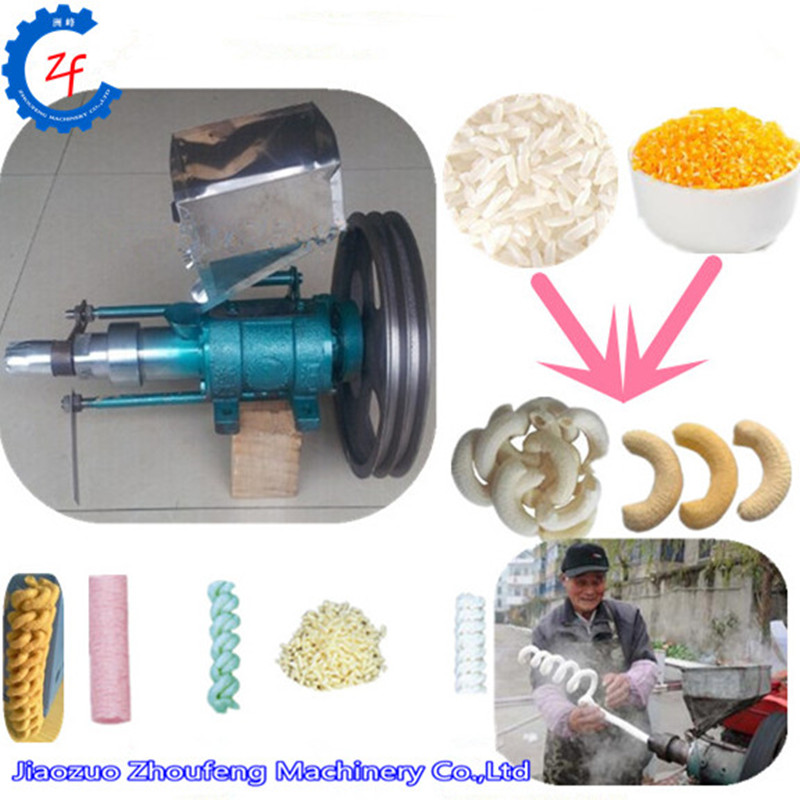 Maize puffing machine corn puffs extruder extruding machine rice puff snack food making machine puff snack machine mini corn puffing machine puffed rice snacks extruder zf