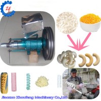 Maize puffing machine corn puffs extruder extruding machine rice puff snack food making machine