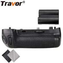 Travor Вертикальная Батарейная ручка держатель для Nikon D750 DSLR камеры как MB-D16+ 1 шт. EN-EL15 батарея+ 2 шт. микрофибра ткань для очистки