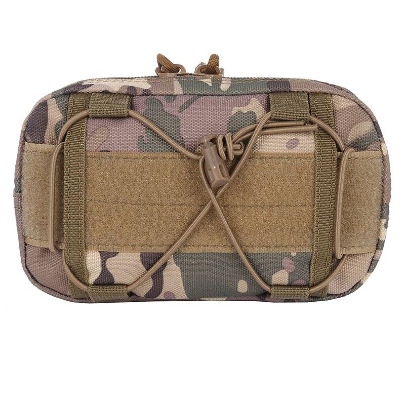 Outdoor Tactical Molle Waist Bags Admin Pouch EDC Tool Belt Bag Organizer Waist Packaging Hunt Bag