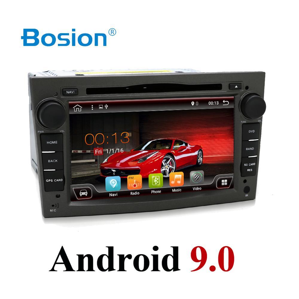 Android 9 2 Din Car DVD Autoradio Navigation WIFI 4G DAB+OBD2 For Vauxhall Opel Astra H G Vectra Antara Zafira Corsa Multimedia