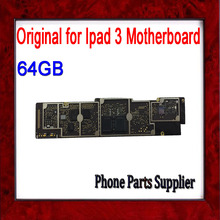 64gb Wifi Version for Ipad 3 Mainboard,100% Original Unlocked for Ipad 3 Motherboard with Chips,Free Shipping & Good Working