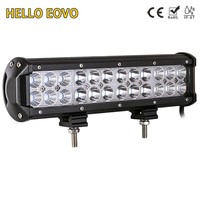 12 Inch 72W LED Work Light Bar For Indicators Motorcycle Driving Offroad Boat Car Tractor Truck