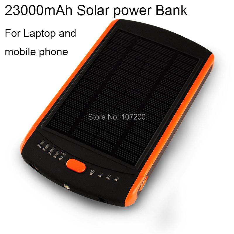 23000mAh Solar Laptop Charger+ Mobile Charger Power bank+Solar Battery Panel Phone+23000 universal laptop power bank - Lino Electronics Mall store
