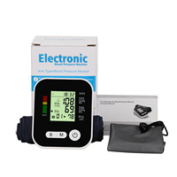 Engish Arm type automatic electronic sphygmomanometer high precision measuring blood pressure meter arm blood pressure monitor