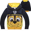 Cartoon Dog Puppy Patrol Clothes emoji Sweatshirt Children Patrulha Pata Hoodie for Kids Boys Girls Sudadera Patrulla De Ninos