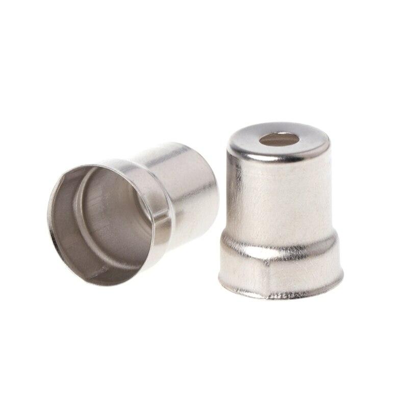 Neue Mode 5 Teile/satz Stahl Kappe Mikrowelle Ersatz Runde Loch Magnetron Silber Ton