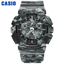 Casio watch Multi - function shockproof waterproof sports electronic male GA-100CM-4A GA-100CM-5A