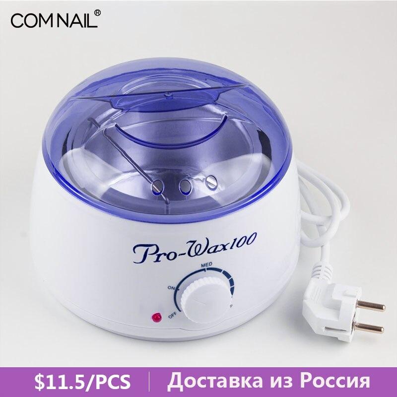 Comnail Hair Removal Tool PRO-Wax100 Wax Heater Mini SPA Warmer Wax Hand Epilator Ship From Russian Warehouse