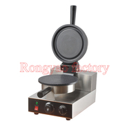 RY FY 190 Stainless steel electric pizza bowl waffle machine with timer non stick coating waffle baker