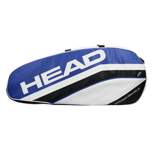 adults head tennis racket bag bagpack breathable sports backpack for 1 2 pcs rackets racquete with shoes bag double shoulder Original Head Racket Bag Large Capcity For 5 Tennis Rackets Original Head Sports Backpack All Sports Accessories Male