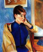 Photo to Paintings Madeleine Bernard by Paul Gauguin Portrait Oil Painting Female Hand Painted