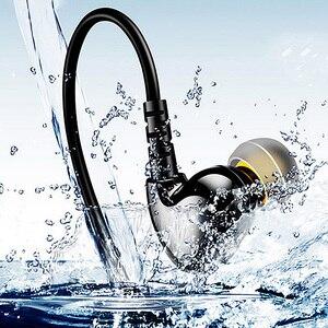 Image 1 - RUKZ S6 XBS basse Sport écouteurs pour téléphone portable bruit suppression écouteur DJ stéréo dans loreille en cours dexécution écouteurs HiFi écouteurs