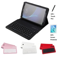 PU Leather Case with Bluetooth Keyboard Cover for Samsung Galaxy Tab A A6 10.1 2016 T585 T580 T580N Cases
