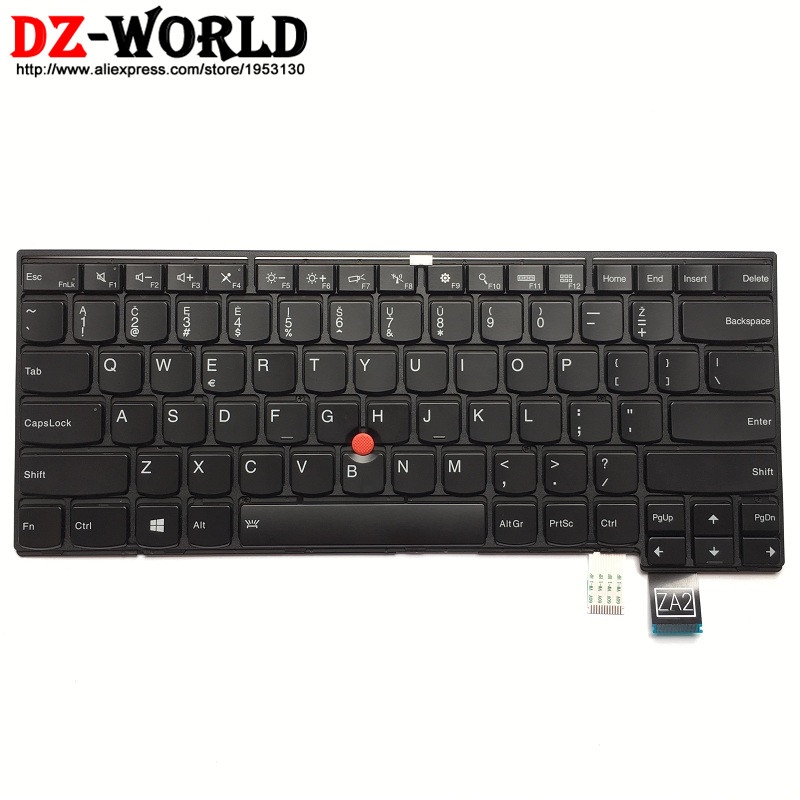 New Original Lithuania Backlit Keyboard for Lenovo Thinkpad T460P Backlight Teclado for Lithuania 00UR434 00UR394 SN20J92021 neworig keyboard bezel palmrest cover lenovo thinkpad t540p w54 touchpad without fingerprint 04x5544
