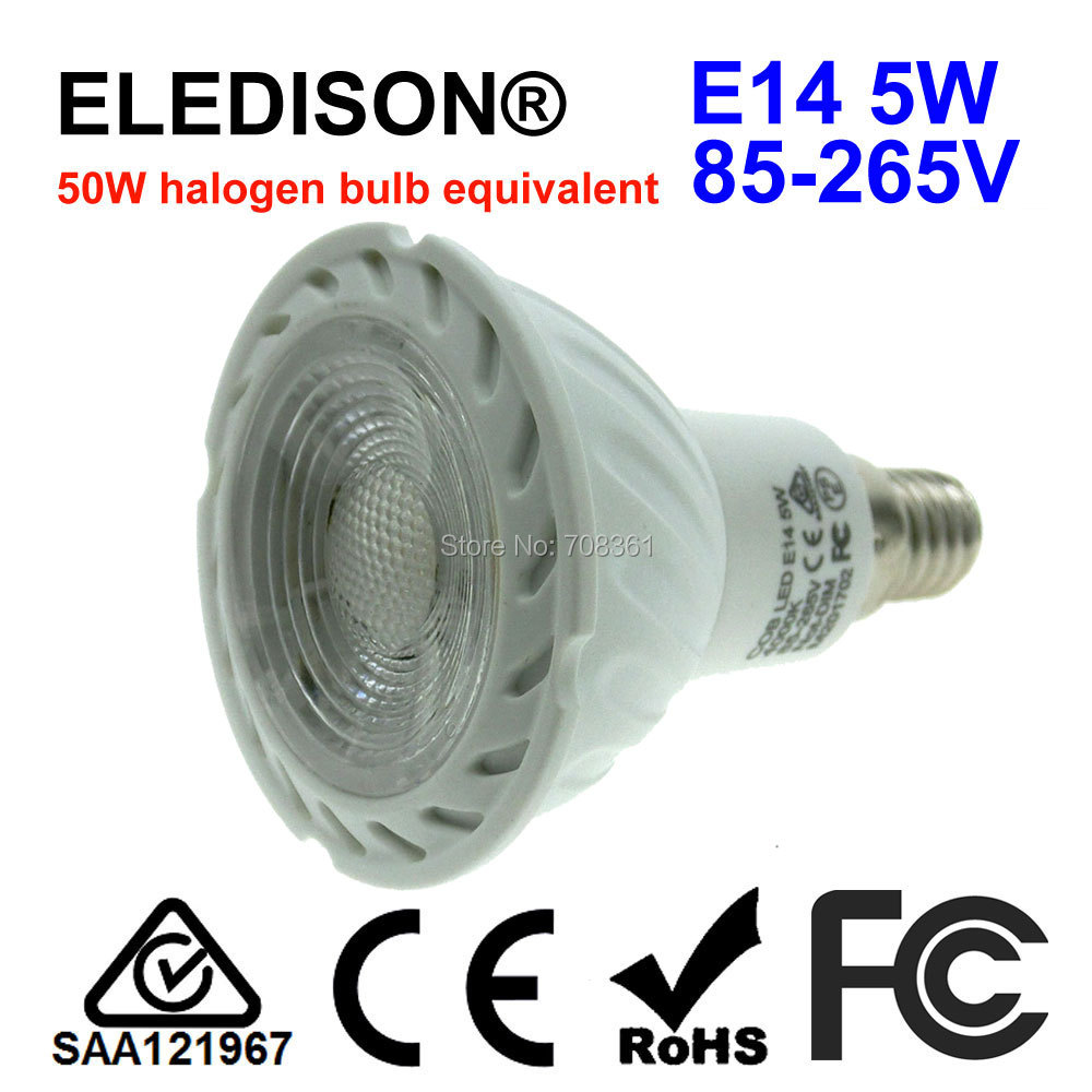E14 Led Spot Light Bulb 5w Es European Standard Ceiling