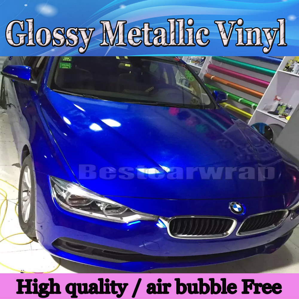 Aliexpress Com Buy Gloss Midnight Metallic Vinyl Car