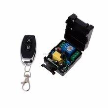 AC 220V 10A 1CH RF 433MHz беспроводной пульт дистанционного управления Модуль приемника+ передатчик Комплект для домашней электроники
