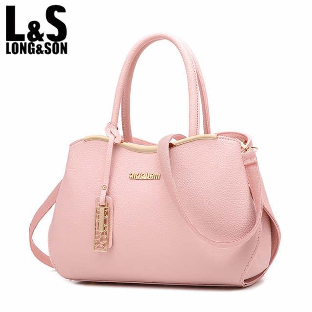 bef041e9860a6 placeholder Long Son 2017 Hot Sale Women Messenger Bag Crossbody Handbag  New Fashion PU Leather Shoulder Bags