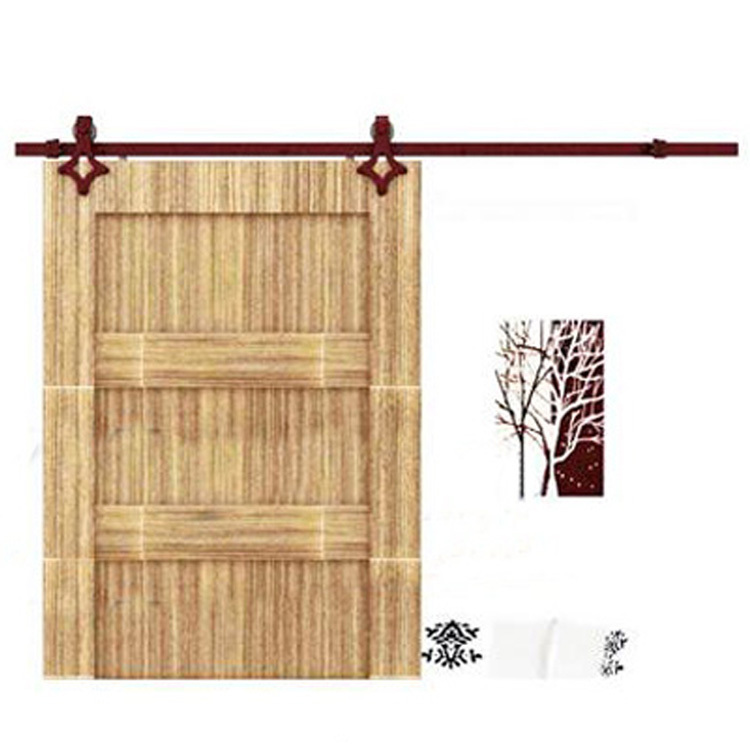Hot American Trade Barn Door Hardware Accessories Wooden Sliding Door  Sliding Door Pulley Hanging Rail Sliding Door Track A06 In Door Hinges From  Home ...
