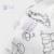 Tadomuslin Bebé Muselina Manta Mantas Recién Nacido Niños 100% Del Bebé Del Algodón Muselina Swaddle Envuelve Niños Set 120*120 cm Elefante