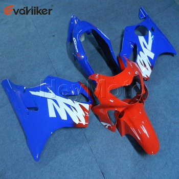 Custom ABS Plastic fairing for CBR600F4 1999-2000 CBR 600F4 99 00 motorcycle panels+5Gifts Painted Injection mold red blue