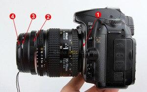 Image 3 - Macro Camera Lens Reverse Adapter Bescherming Set Voor Nikon D80 D90 D3300 D3400 D5100 D5200 D5300 D5500 D7000 D7100 D7200 d5 D610