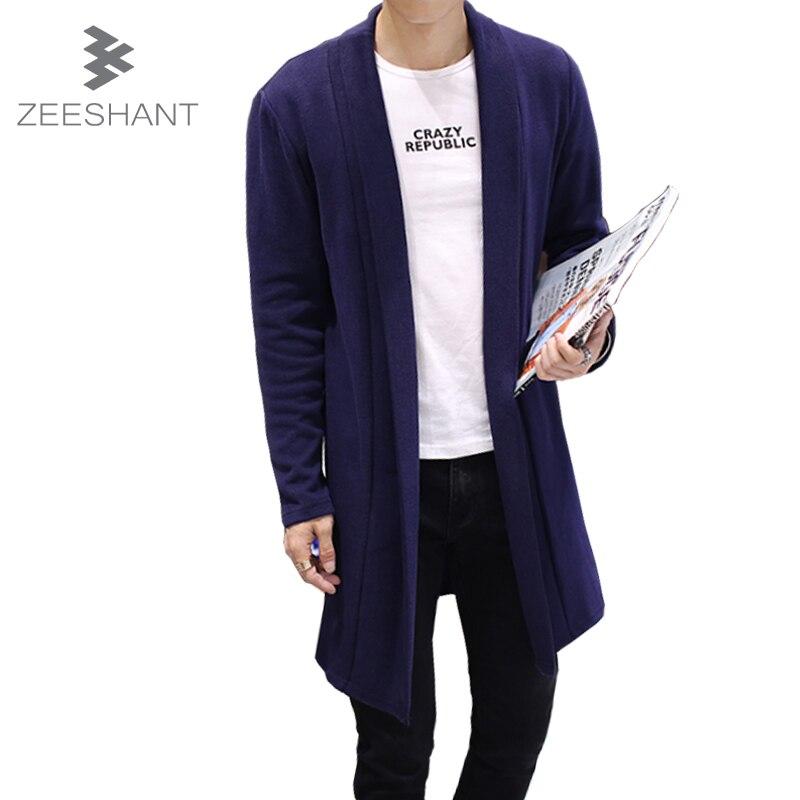 Compra largas chaquetas de punto para hombre online al por