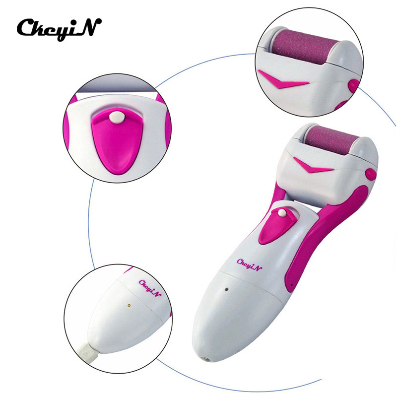 Rechargeable Foot File Pedicure Machine Electric Foot Care Tool Feet Dead Hard Skin Removal Smooth Quita Callos Wholesale S34 rechargeable electric foot care tool pedicure electric foot file pedicure callus removal heel machine feet hard skin removal