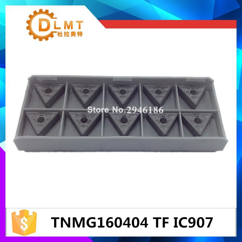 10PCS TNMG160404 TF IC907 belső forgácsoló szerszám keményfém - Szerszámgépek és tartozékok - Fénykép 2