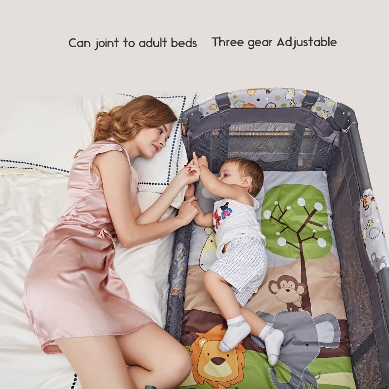 2020 розкладне дитяче ліжко подорож - Дитячі меблі - фото 2