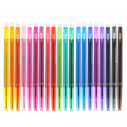 Pilot FriXion Ball Slim Gel Pen 0 38mm 20 Color Bundle Ink Erasable LFBS 18UF Writing