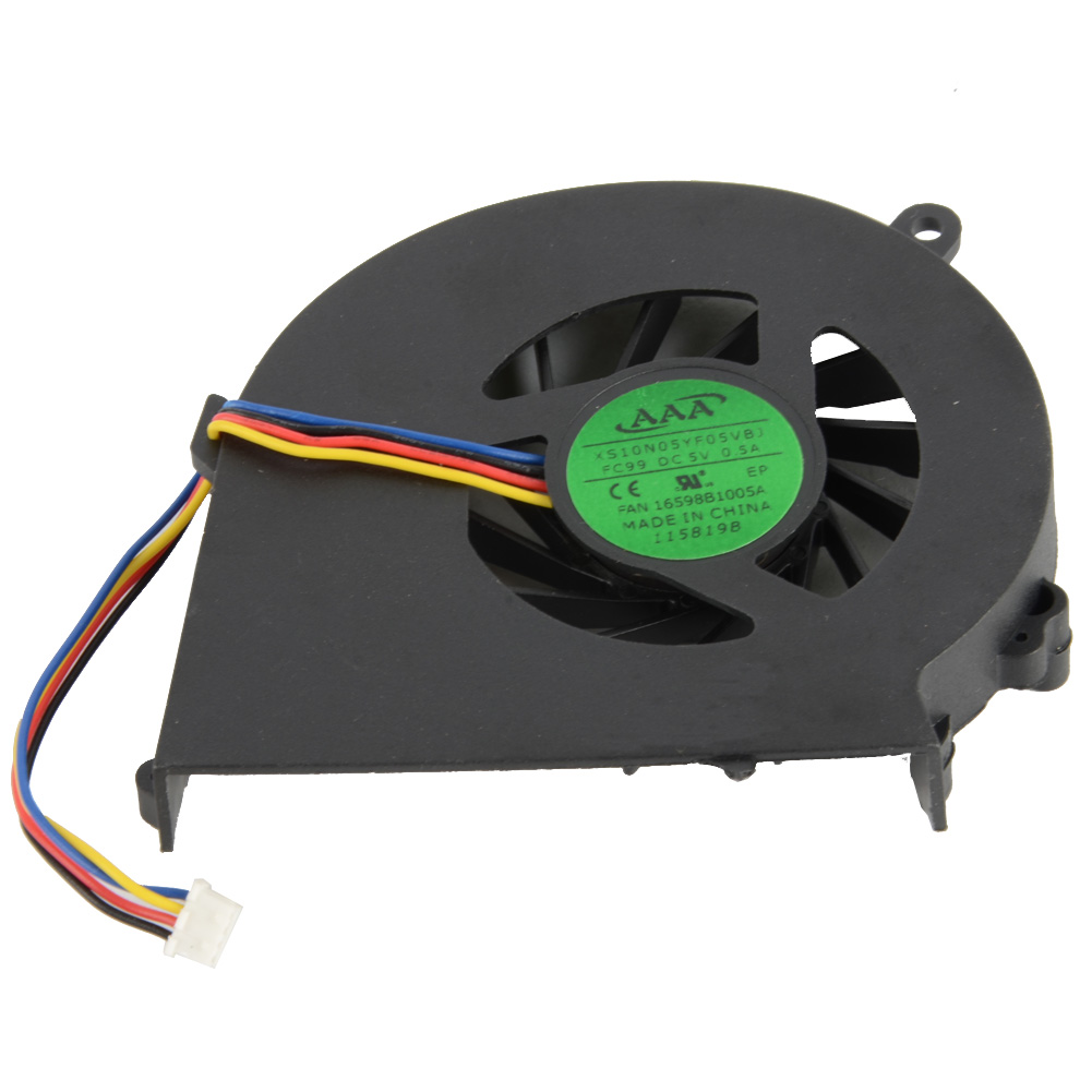 Notebook Computer Replacements Cpu Cooling Fans Fit For HP COMPAQ CQ58 G58 650 655 Laptops Component Cpu Cooler Fans F2036 new laptops replacement cpu cooling fans fit for ibm lenovo r61 r61i r61e mcf 219pam05 42w2779 42w2780 notebook cooler fan p20