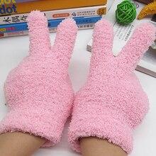 Модные милые детские перчатки, рукавицы, теплые зимние аксессуары для мальчиков и девочек#0712