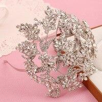 MANWII Original design alloy hair band Han hair ornaments head hoop bride wedding jewelry wholesale AQ2077